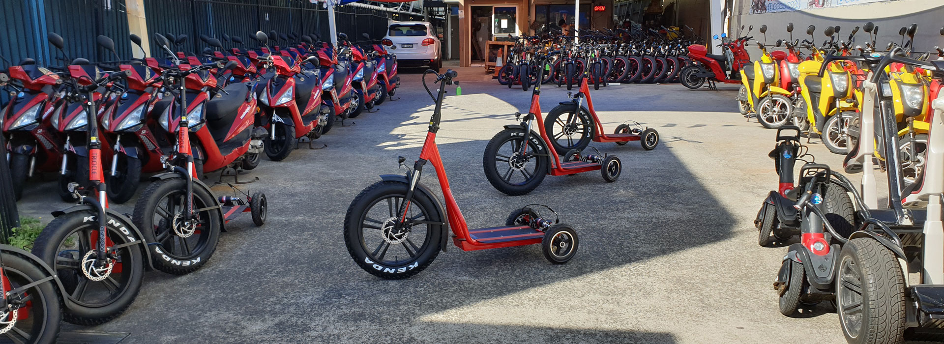 Tricycle Hire Gold Coast