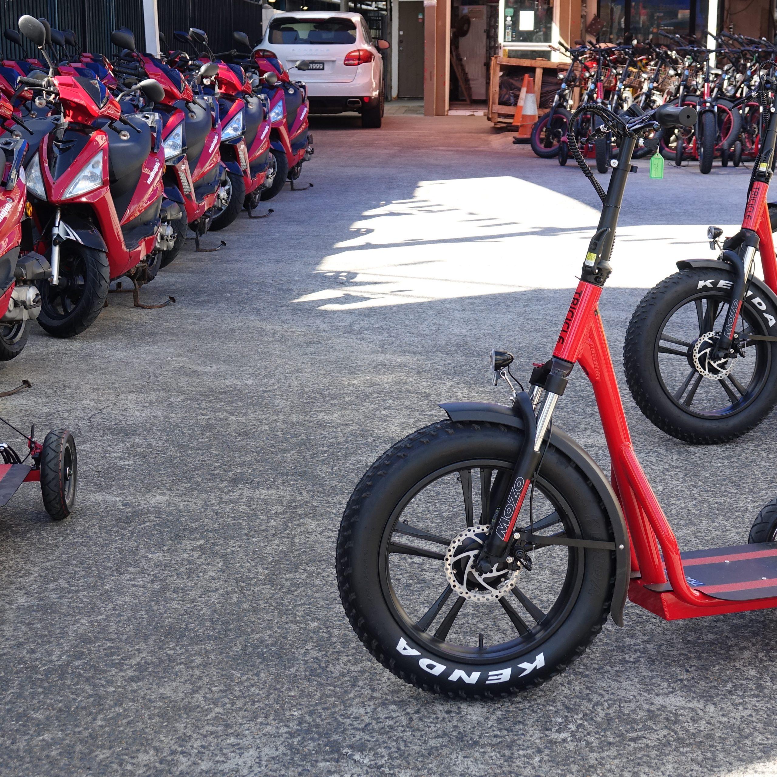50cc Petrol Scooter Hire Gold Coast